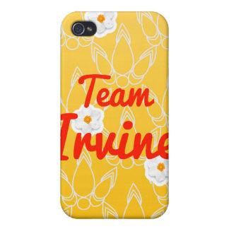 Equipo Irvine iPhone 4 Protectores