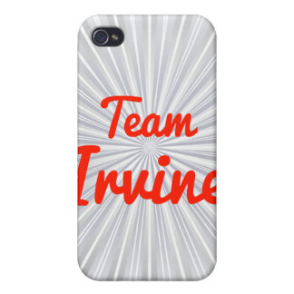 Equipo Irvine iPhone 4 Cárcasas