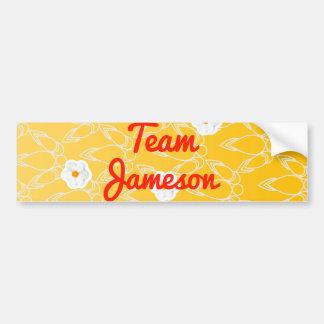 Equipo Jameson Pegatina Para Auto
