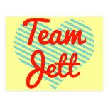 Equipo Jett Postales