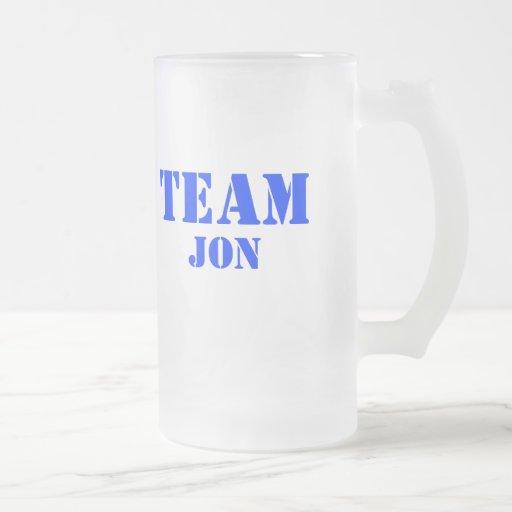 Equipo Jon Jarra De Cerveza Esmerilada