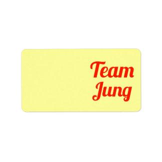Equipo Jung Etiquetas De Dirección