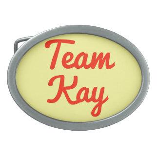 Equipo Kay Hebillas Cinturón Ovales