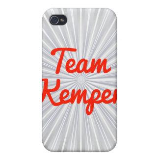 Equipo Kemper iPhone 4/4S Carcasas