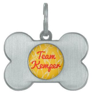 Equipo Kemper Placas Mascota