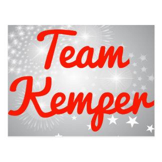 Equipo Kemper Tarjeta Postal