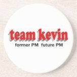 Equipo Kevin - futuro anterior P.M. del P.M. Posavasos Personalizados