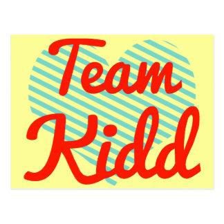 Equipo Kidd Postales
