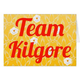 Equipo Kilgore Felicitaciones