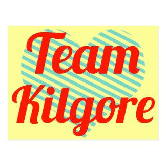 Equipo Kilgore Tarjeta Postal
