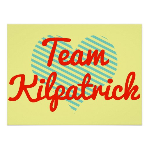 Equipo Kilpatrick Posters