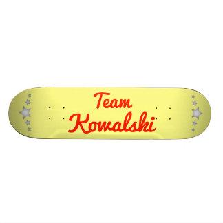 Equipo Kowalski Tablas De Skate