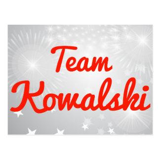 Equipo Kowalski Postales