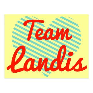 Equipo Landis Postales