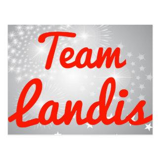 Equipo Landis Tarjetas Postales