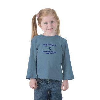 Equipo largo Olivia Kay de la manga del niño Camiseta