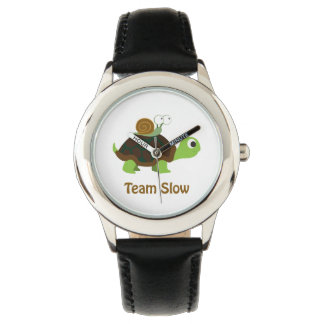 Equipo lento relojes de mano