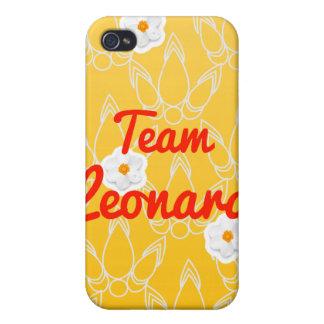 Equipo Leonard iPhone 4 Carcasas
