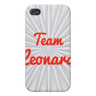 Equipo Leonard iPhone 4 Funda