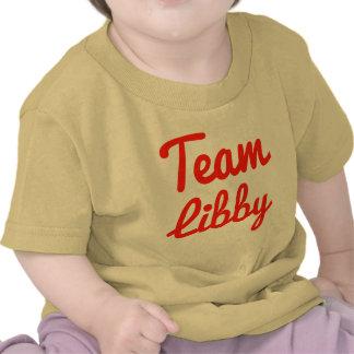 Equipo Libby Camiseta