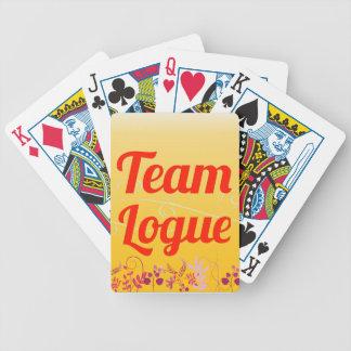 Equipo Logue Cartas De Juego