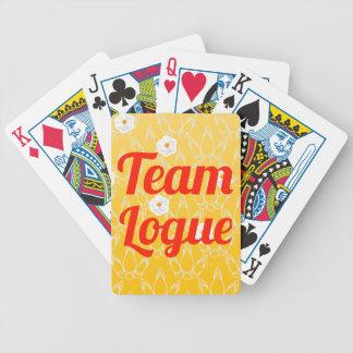 Equipo Logue Baraja Cartas De Poker