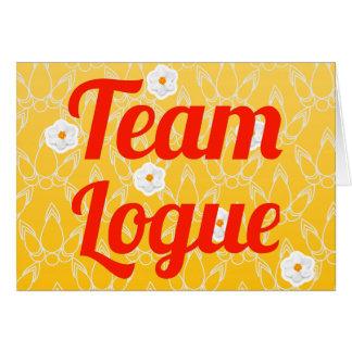Equipo Logue Felicitacion