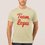 Equipo López Camiseta