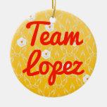 Equipo López Ornaments Para Arbol De Navidad