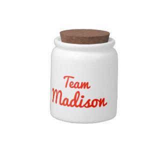 Equipo Madison Jarras Para Caramelos