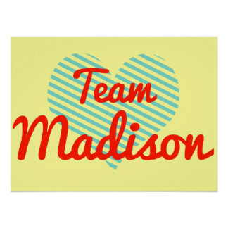 Equipo Madison Poster