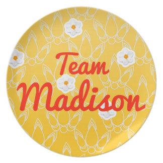 Equipo Madison Platos Para Fiestas