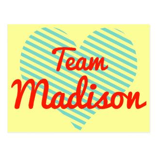Equipo Madison Postal