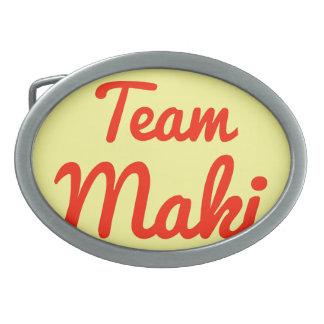 Equipo Maki Hebillas De Cinturon