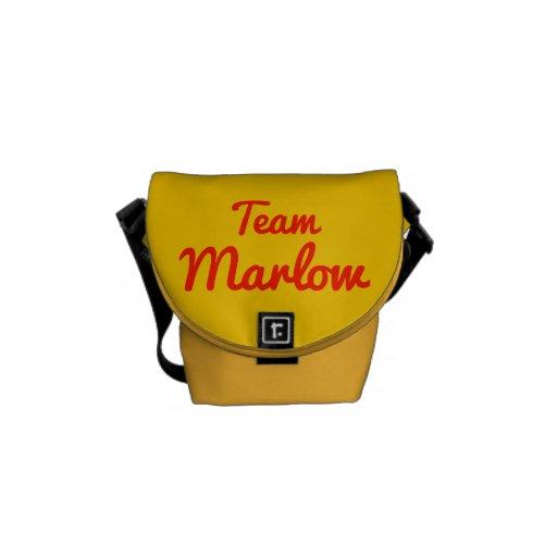 Equipo Marlow Bolsas De Mensajería