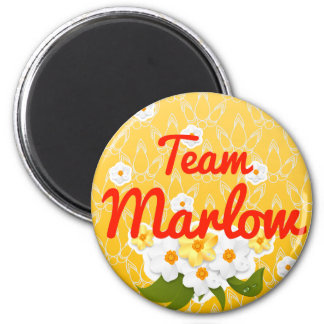 Equipo Marlow Imán De Frigorífico