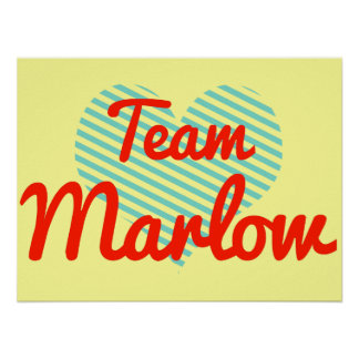 Equipo Marlow Posters
