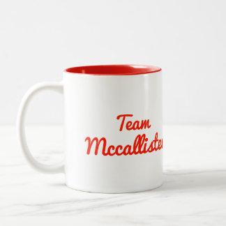 Equipo Mccallister Taza Dos Tonos