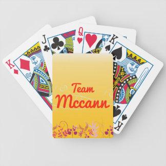 Equipo Mccann Barajas De Cartas