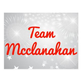 Equipo Mcclanahan Postal