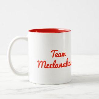 Equipo Mcclanahan Taza De Dos Tonos