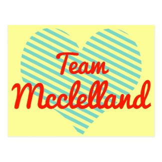 Equipo Mcclelland Tarjetas Postales