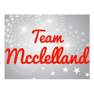Equipo Mcclelland Postales