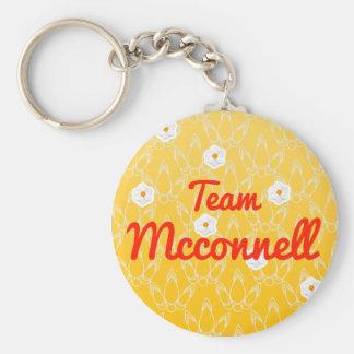 Equipo Mcconnell Llavero Personalizado