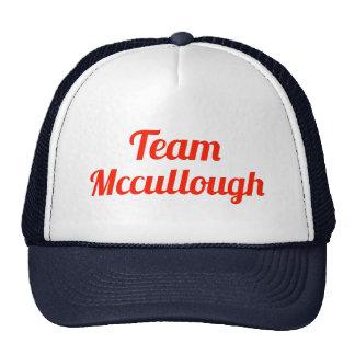 Equipo Mccullough Gorras De Camionero