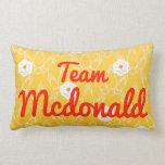 Equipo Mcdonald Almohadas