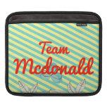Equipo Mcdonald Funda Para iPads