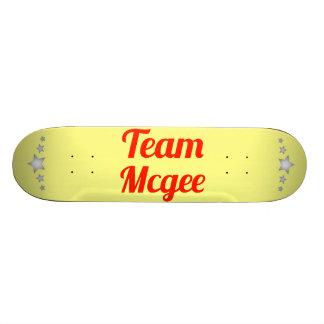Equipo Mcgee Patin Personalizado