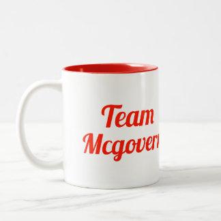 Equipo Mcgovern Taza Dos Tonos