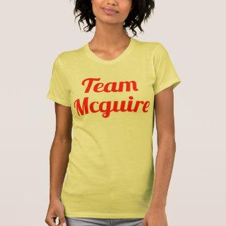 Equipo Mcguire Camisetas